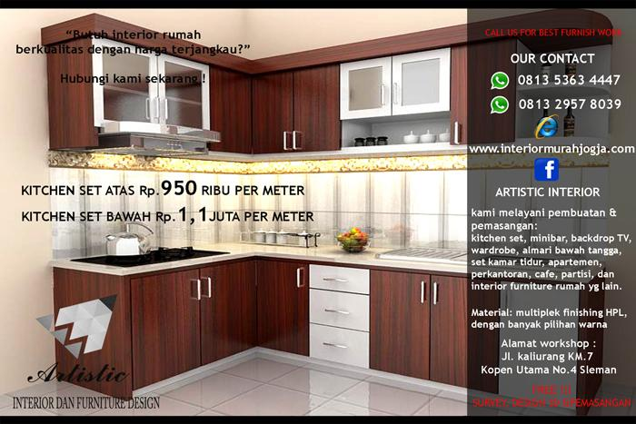 Kitchen Set Jogja | Jasa Kitchen Set Jogja | Kitchenset Murah Jogja